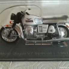 Motos à l'échelle: MOTOS GUZZI V7 1967. Lote 286497888