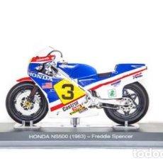 Motos a escala: MOTO GP FREDDIE SPENCER 1983 / GP - HONDA NS500 (ESCALA 1:18) IXO,MOTOS,N31. Lote 287875253