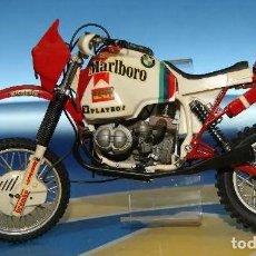 Motos a escala: MOTO A ESCALA. 80S BMW DE G. RAHIER (GANADORA RALLY DAKAR 1985). Lote 288135868