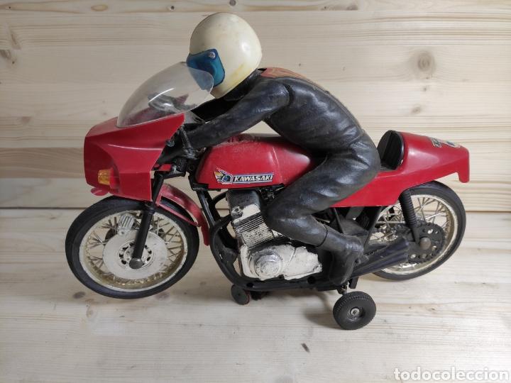 Motos a escala: Moto juguete Payá Kawasaki para repuesto - Foto 6 - 289838803