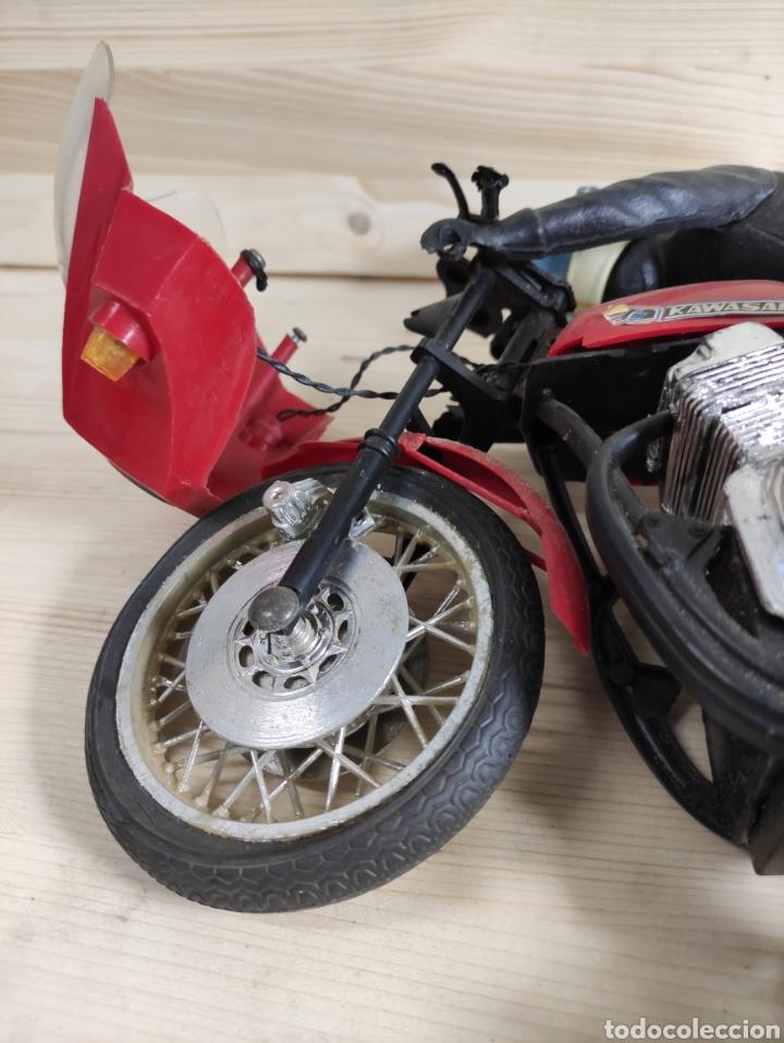 Motos a escala: Moto juguete Payá Kawasaki para repuesto - Foto 7 - 289838803