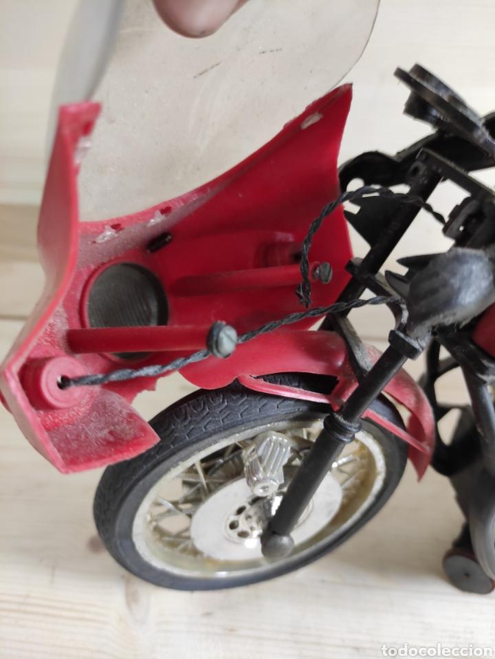 Motos a escala: Moto juguete Payá Kawasaki para repuesto - Foto 8 - 289838803