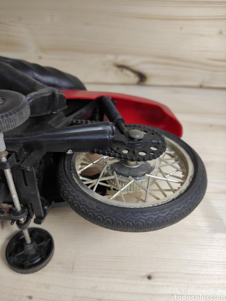 Motos a escala: Moto juguete Payá Kawasaki para repuesto - Foto 10 - 289838803