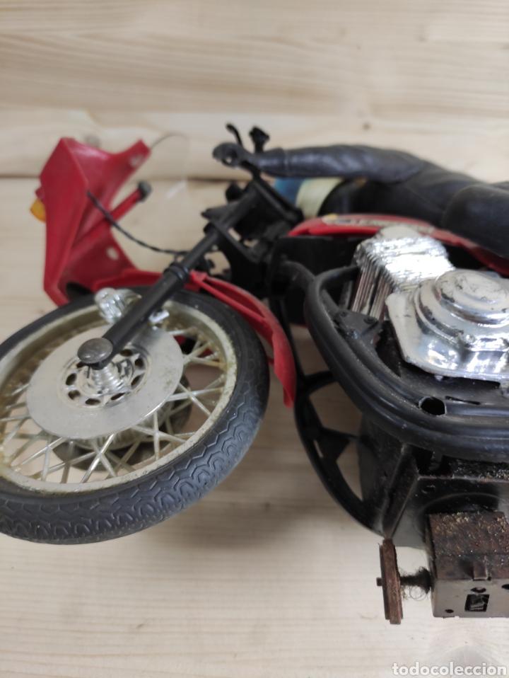 Motos a escala: Moto juguete Payá Kawasaki para repuesto - Foto 11 - 289838803