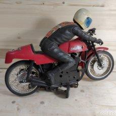 Motos a escala: MOTO JUGUETE PAYÁ KAWASAKI PARA REPUESTO. Lote 289838803