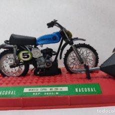 Motos a escala: MOTO JUGUETE NACORAL MONTESA CAPRA MX 250CC REF 3600/M CON CAJA.SIN USAR Nº5. Lote 293812088