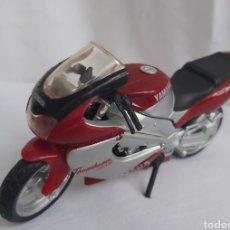 Motos a escala: MOTO YAMAHA YZF 1000 THUNDERACE MARCA MAISTO A ESCALA 1/18. Lote 293947058