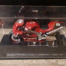 Motos a escala: HONDA VTR 1000 W. COSTES - S. CHARPENTIER - S. GIMBERT 2000 MOTO ESCALA 1:24. Lote 295377143