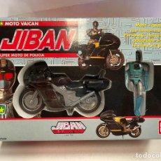Motos a escala: MOTO POLICIA POLICE VAICAN JIBAN BANDAI 1989 TOEI. Lote 295420023