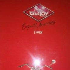 Motos a escala: CATALOGO DE MOTO GUILOY AÑO 1998. Lote 296787328