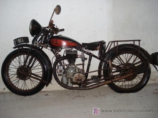 PEUGEOT 250 DE 1930, MUY ORIGINAL SIN DOCUMENTOS (Coches y Motocicletas - Motocicletas Antiguas (hasta 1.939))