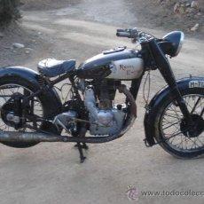 Motos: ROYAL ENFIELD 500, VALVULAS EN CABEZA, DE 1936. Lote 26094441