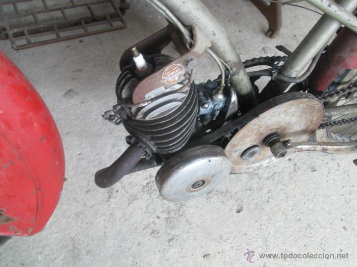 Motos: bonita moto antigua marca motobecane des pue mobilete del año 20 al30 - Foto 4 - 39943130