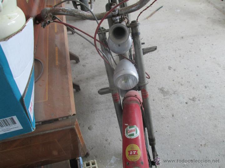 Motos: bonita moto antigua marca motobecane des pue mobilete del año 20 al30 - Foto 5 - 39943130