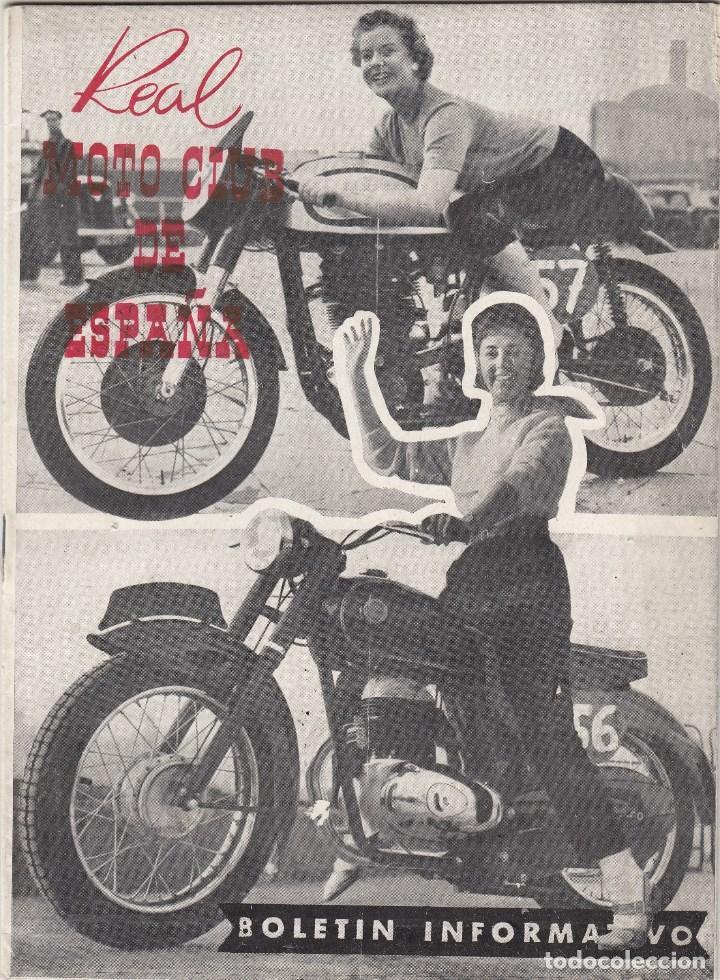 REVISTA REAL MOTO CLUB DE ESPAÑA. Nº 80 AÑO 1957. (Coches y Motocicletas - Motocicletas Antiguas (hasta 1.939))