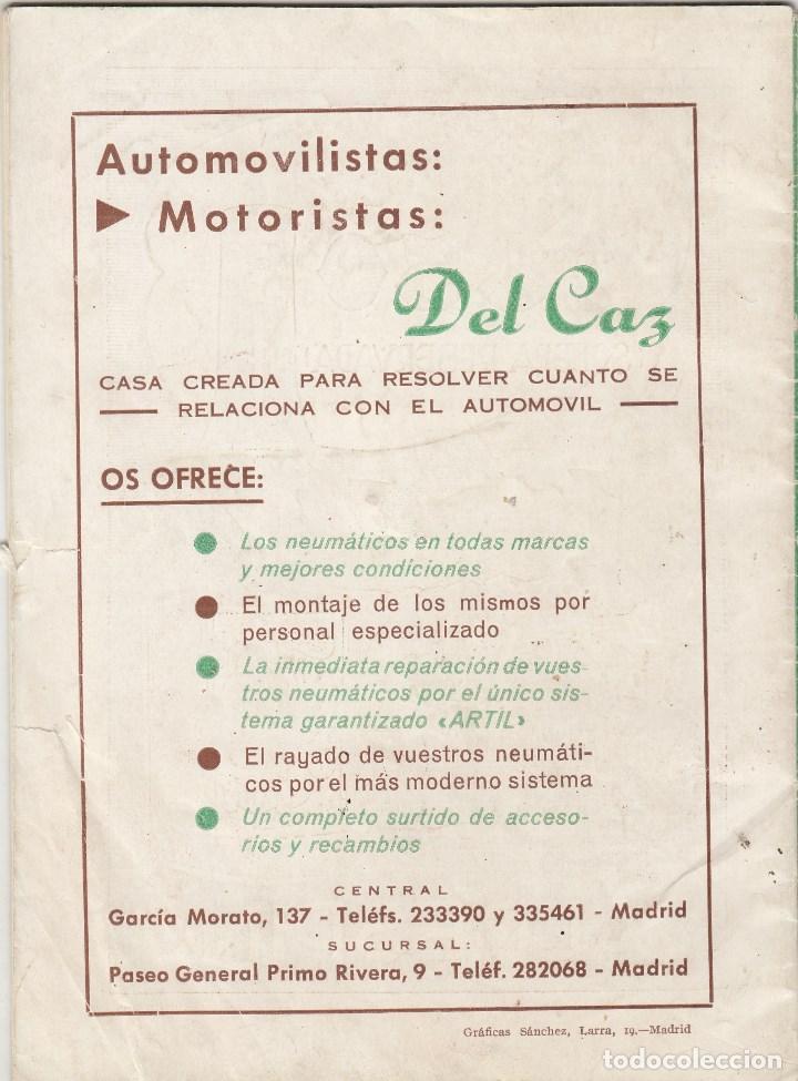 Motos: REVISTA REAL MOTO CLUB DE ESPAÑA Nº 73 AÑOP 1956. - Foto 2 - 81131604