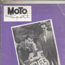 Motos: REVISTA MOTO SPORT Nº 23 AÑO 1954. . Lote 81131948