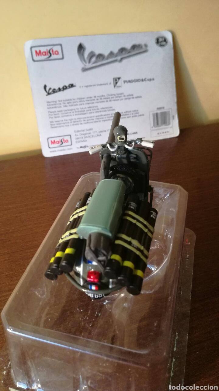 Motos: Vespa militar TAP bazuca miniatura a escala de Maisto - Foto 3 - 93291334
