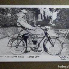 Motos: POSTAL - MOTOCICLETAS - COLECTOR BIKES - AERIEL C 1910 - M2222 - PAMLIN PRINTS CROYDON - NE-NC. Lote 95782607