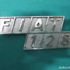 Motos: ANTIGUO LOGOTIPO VEHICULO FIAT 128 LOTE Nº 1. Lote 96458915