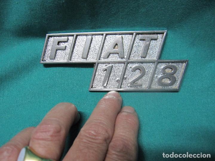 Motos: ANTIGUO LOGOTIPO VEHICULO FIAT 128 LOTE Nº 1 - Foto 5 - 96458915
