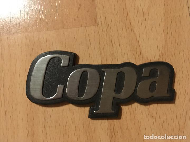PLACA RENAULT COPA (Coches y Motocicletas - Motocicletas Antiguas (hasta 1.939))