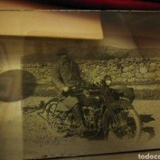 Motos: FOTOGRAFIA EN CRISTA. MOTO AÑOS 20-30. Lote 102018499