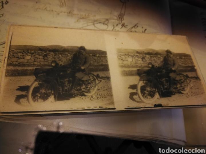 Motos: Fotografia en crista. Moto años 20-30 - Foto 2 - 102018499