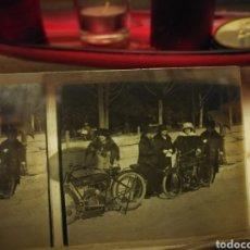 Motos: FOTOGRAFIA ESTEREOSCOPICA DE MOSTOS DE LOS AÑOS 20-30 EN CRISTAL. Lote 102018902