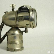 Motos: ANTIGUA LAMPARA DE CARBURO PARA BICICLETAS. ROSAC. Lote 109483411