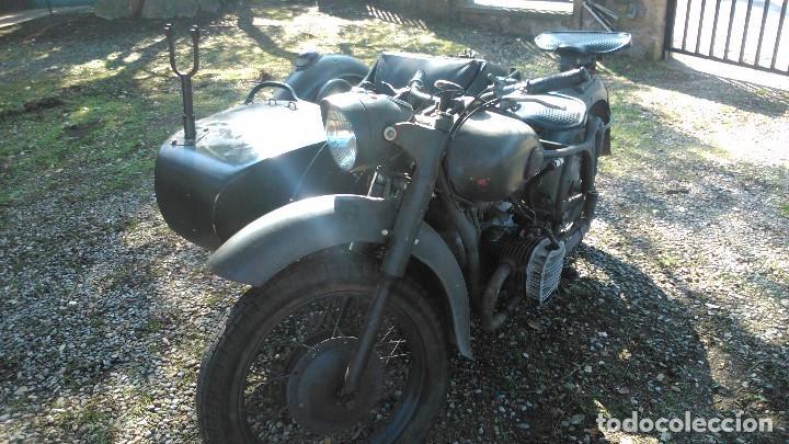 Motos: Escepcional BMW R71 confiscada y remontada por el ejercito ruso después de la segunda guerra mundial - Foto 2 - 113658903