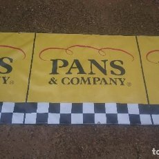 Motos: PANCARTA ORIGINAL PANS COMPANY. Lote 124281499