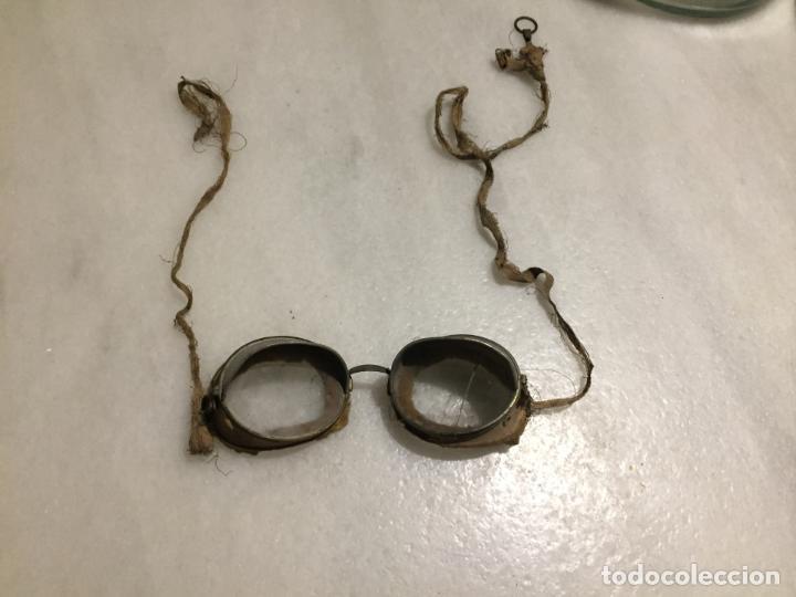 Motos: Antiguas gafas de moto marca moto aviaitor de aluminio y cristal años 20-30 - Foto 9 - 132236302