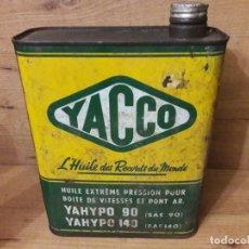 Motos: LATA DE ACEITE YACCO. Lote 134572146