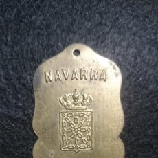 Motos: RARA MATRICULA NAVARRA AÑO 1927. Lote 142403190