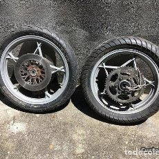 Motos: RODAS COMPLETAS SUZUKI GS 550/750. Lote 143536166