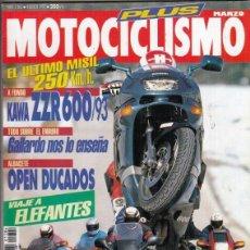 Motos: REVISTA MOTOCICLISMO Nº 1306 AÑO 1993. PRU: KAWASAKI ZZR 600. COMP: BMW K 1100 RS, HONDA CBR 1000 F. Lote 212963370
