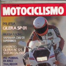 Motos: REVISTA MOTOCICLISMO Nº 1146 AÑO 1990. PRUEBA: GILERA SP 01. RACING: YAMAHA OW 01 SUPERBIKES.. Lote 151828406