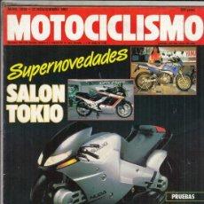 Motos: REVISTA MOTOCICLISMO Nº 1029 AÑO 1987. PRUEBA: HONDA CG 125. CONTACTO: SUZUKI GSX 600 F.. Lote 151834090