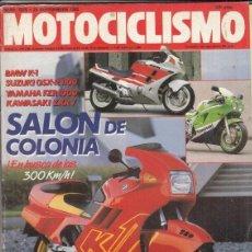 Motos: REVISTA MOTOCICLISMO Nº 1075 AÑO 1988. CONTACTO: HONDA CB 450 DX. . Lote 151837538