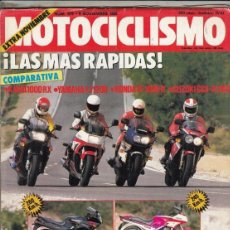 Motos: REVISTA MOTOCICLISMO Nº 978 AÑO 1986. PRU:SUZUKI 125 RG GAMMA.COMP: KAWASAKI 1000 RX, YAMAHA FJ 1200. Lote 151849546