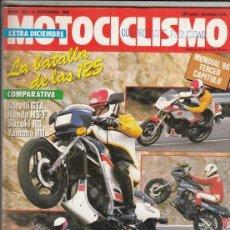 Motos: REVISTA MOTOCICLISMO Nº 982 AÑO 1986. PRU: CAGIVA 125 STRIJBOS. DKW 350 TRICILINDRICA. . Lote 151850410