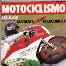 Motos: REVISTA MOTOCICLISMO Nº 1025 AÑO 1987.PRU:GARELLI XLE TIGER 125.BMW K 75.CONT: MORINI 350 KANGURO.. Lote 151853610