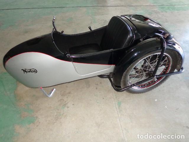 NORTON SIDECAR AÑOS 30, PARA MOTOCICLETA NORTON 500 DE 1930-1945 ARPOX (Coches y Motocicletas - Motocicletas Antiguas (hasta 1.939))