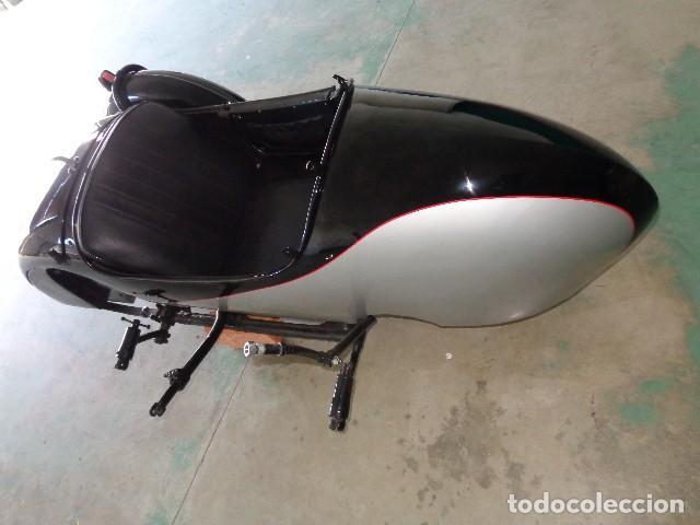 Motos: Norton sidecar años 30, para motocicleta Norton 500 de 1930-1945 arpox - Foto 2 - 164623654