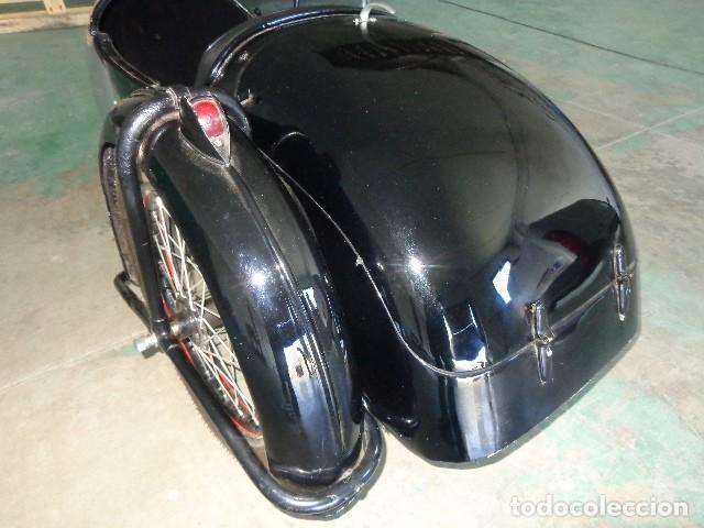 Motos: Norton sidecar años 30, para motocicleta Norton 500 de 1930-1945 arpox - Foto 4 - 164623654