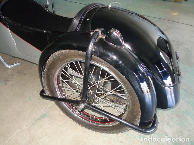 Motos: Norton sidecar años 30, para motocicleta Norton 500 de 1930-1945 arpox - Foto 7 - 164623654