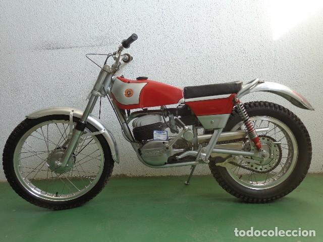 BULTACO SHERPA 250, AÑO 1970 MODELO 49 RESTAURADA (Coches y Motocicletas - Motocicletas Antiguas (hasta 1.939))