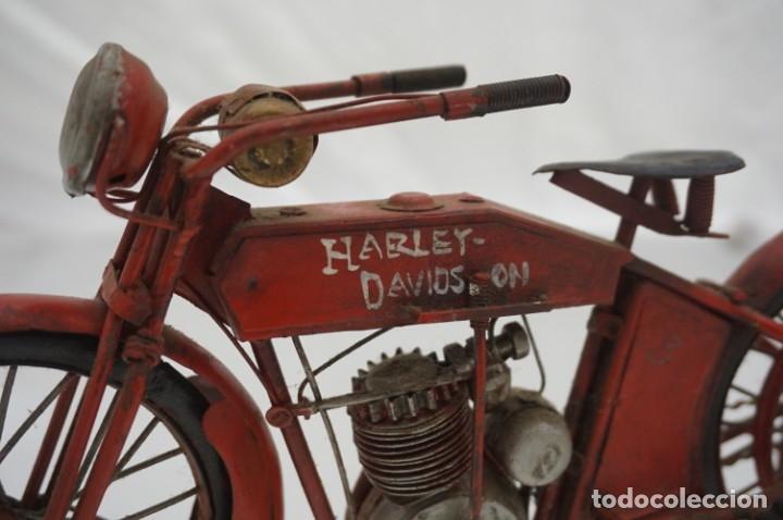 Motos: ANTIGUA MAQUETA HARLEY DAVISON / HIERRO - Foto 2 - 179948467