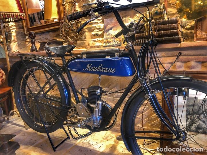 Motos: Antigua primera moto de Motobecane años 20. 1923 - Foto 2 - 184048353